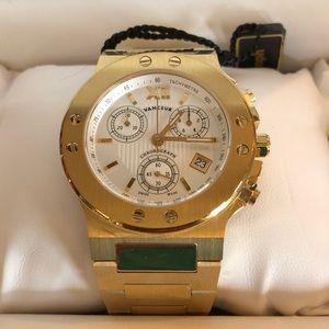 Men's Vanceur Quartz Chronograph Wrist Watch